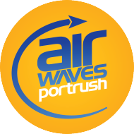 Air Waves Portrush Logo